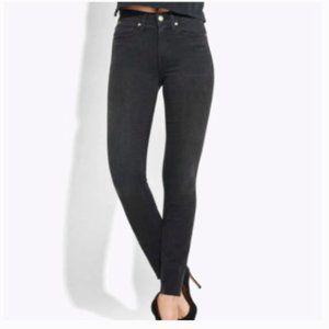 AYR The Chiller High Rise Skinny Black Jeans 26
